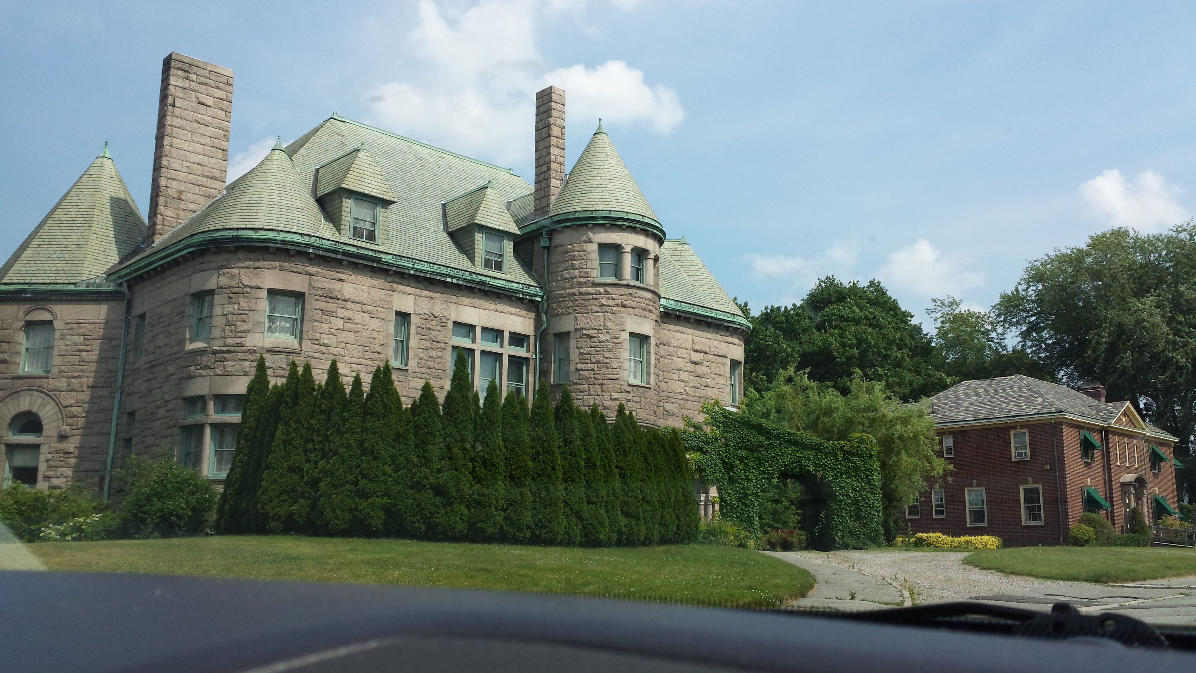 Massachusetts Mansions, Castles and Churches