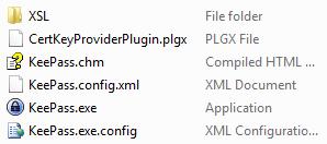 KeePass CertKeyProvider plugin